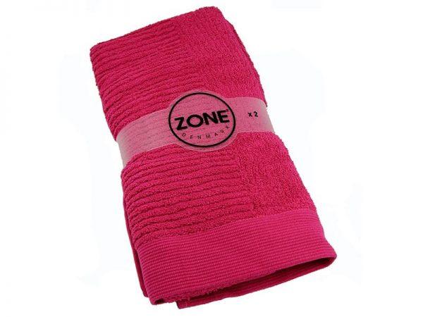 Полотенце 100 x 50 см zone ZO 905 18 Raspberry