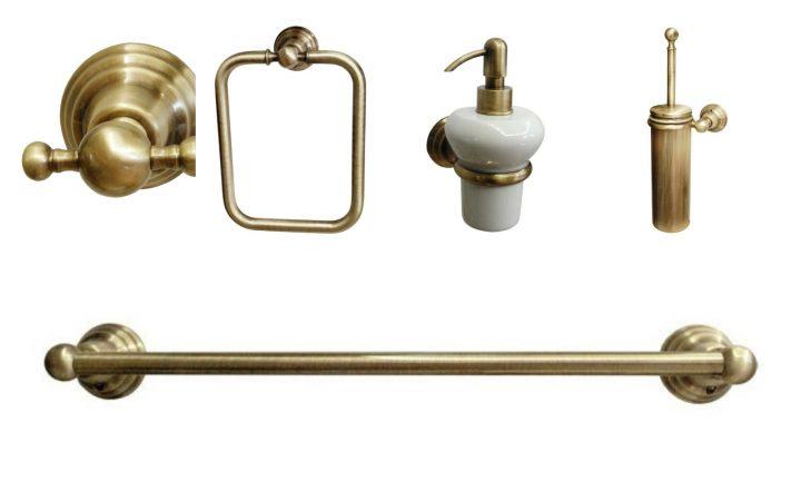 Коллекция аксессуаров д/ванной Canova Bronze