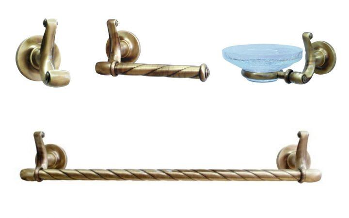 Коллекция аксессуаров д/ванной Opera Bronze