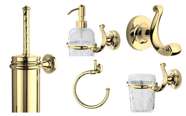 Коллекция аксессуаров д/ванной Opera Gold