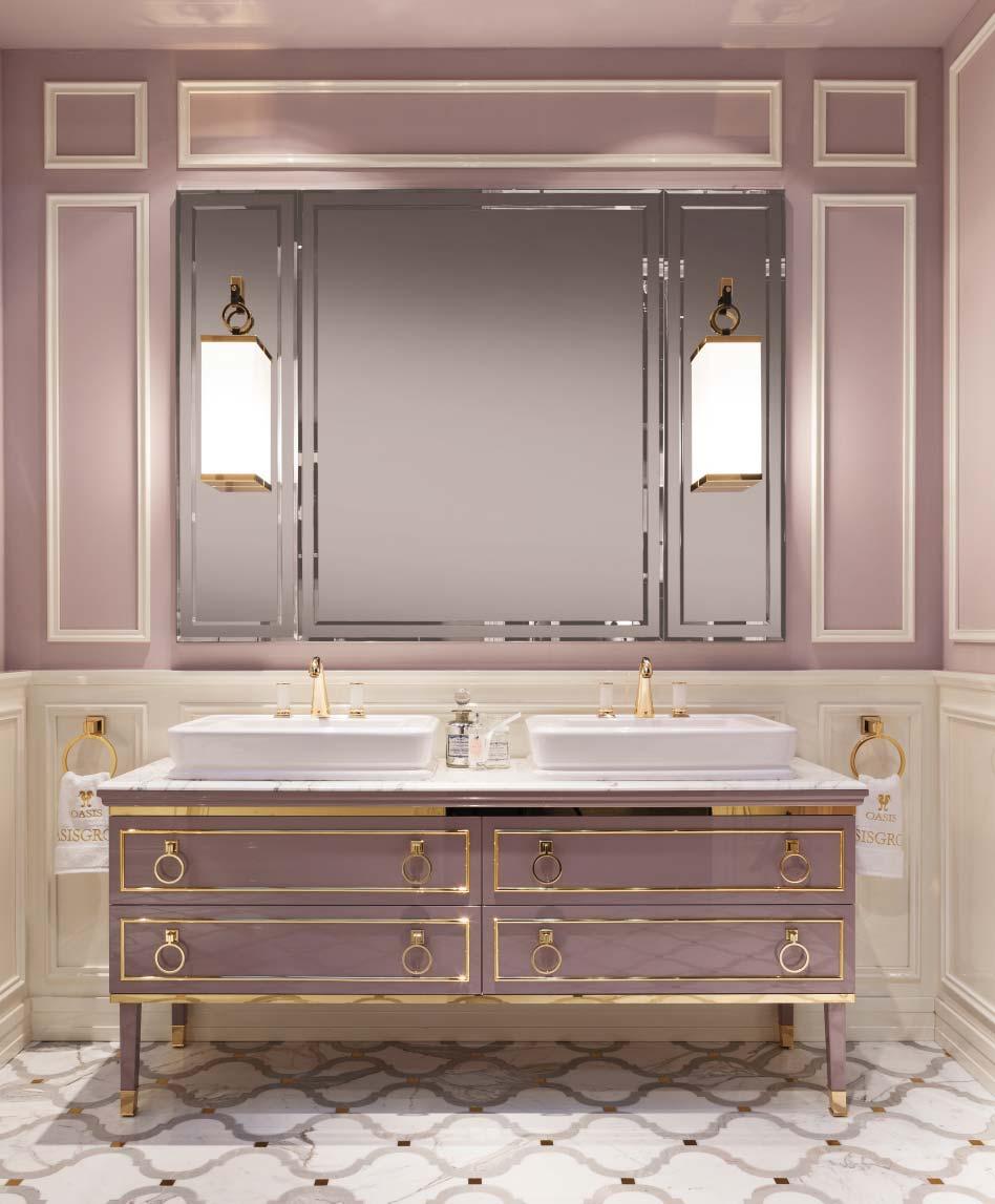 OASIS Lutetia L14 мебель для ванной комнаты - доп. фото