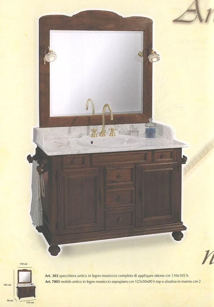 Комплект мебели фабрики C.R.G., модель Arcadia. Цвет орех