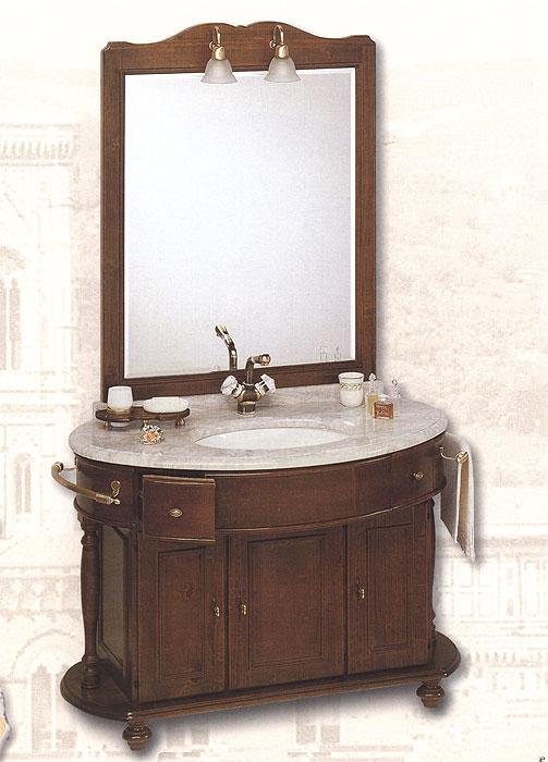 Комплект мебели фабрики C.R.G., модель Antica Firenze. Цвет орех