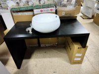 Комплект мебели фабрики VetrArte, модель PLANAR 110 WENGE