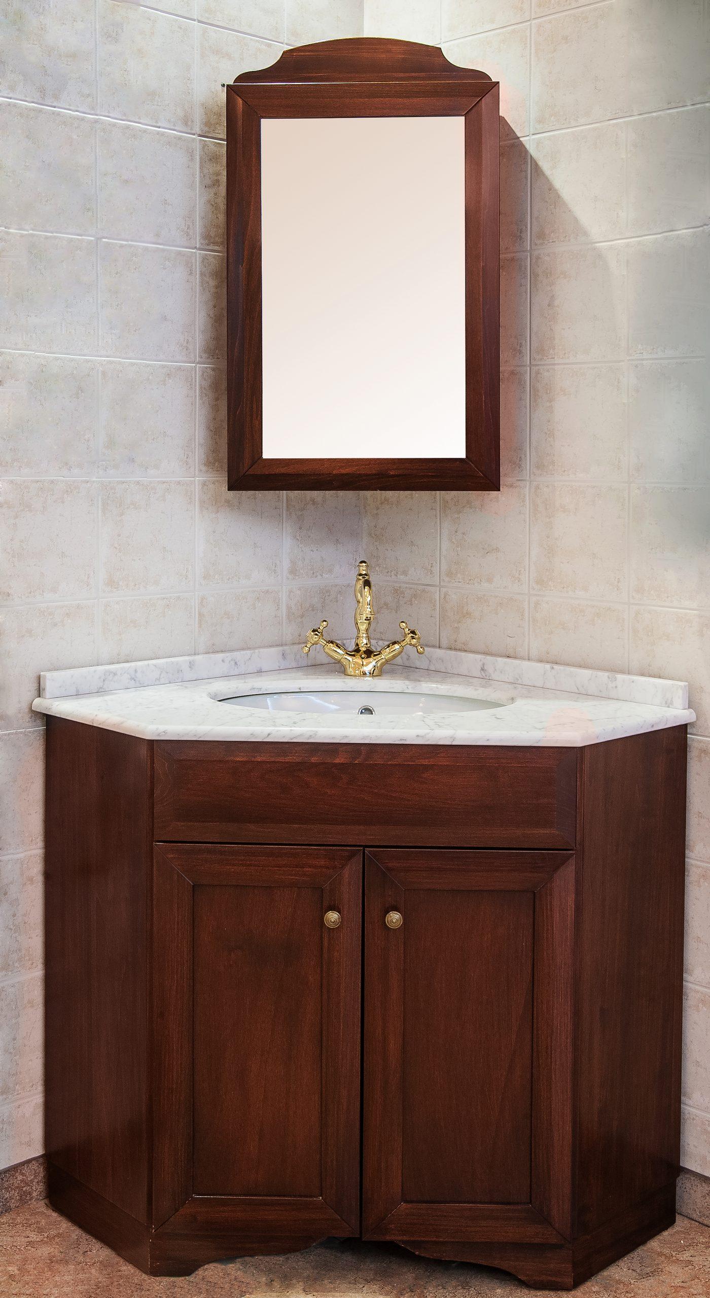Итальянская мебель д/ванной в стиле Классика, модель Classic4