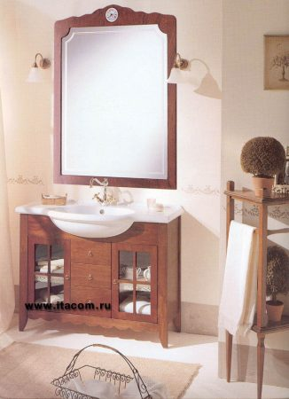 Итальянская мебель д/ванной в стиле Кантри, модель WEST
