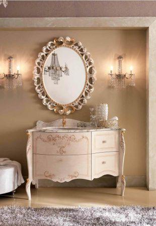 Мебель для ванной комнаты BMT WILSON - резьба и роспись