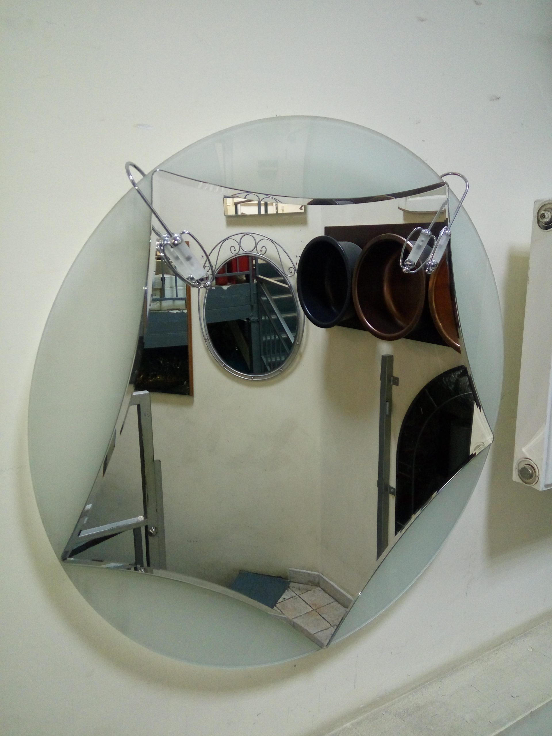 Зеркало итальянское арт META 35