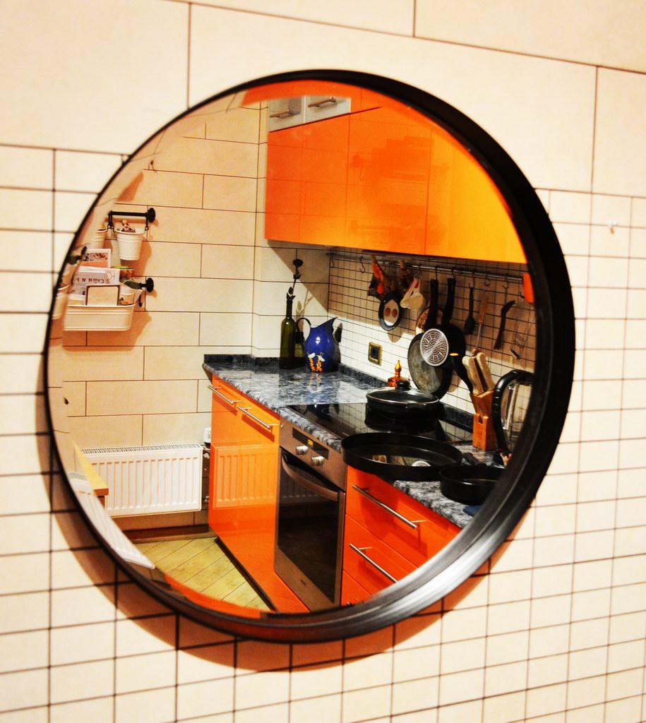 Зеркало LOFT SP60 Nero